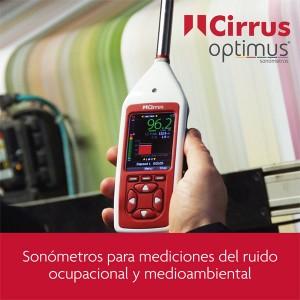 Sonómetros para mediciones del ruido ocupacional y medioambiental